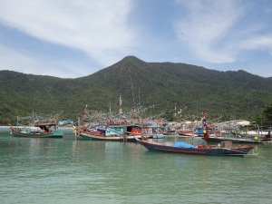 Fishing Boats, Koh Phangan